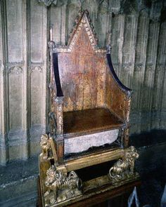 The Coronation Throne and the Stone of Scone or Stone of Destiny, full interesting history here