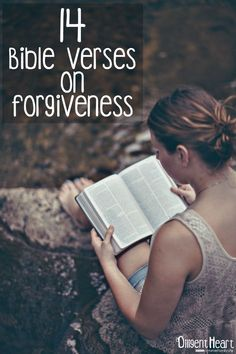 14 Bible Verses on Forgiveness Forgiveness Quotes Christian, Bible Verses About Forgiveness, Bible Verses About Love, Love And Forgiveness, Biblical Verses, Bible Verses Quotes, Bible Scriptures, Love In The Bible, Quotes Quotes