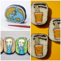 Sushi hecho arte | Curiosidades Gastronómicas
