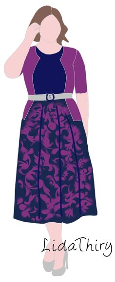 Fashion Silhouette, Deep Winter, Skater Skirt, Midi Skirts, Disney Princess, Disney Characters, Blouse, My Style, Fitness