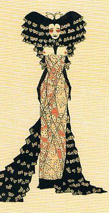 Marchesa Luisa Casati - c. 1914 - Drawing by Alastair aka Hans Henning Otto Harry Baron von Voigt (German, 1887-1969)