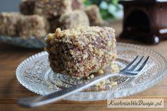 171-orzechanki-kuchniawedwoje-pl Krispie Treats, Rice Krispies, Dessert Spoons, Mince Meat, Muffin, Meals, Breakfast, Cake, Sweet