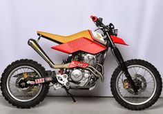Honda NX650 Dominator 'Bouzin' - ONLYBIKE - Ottonero