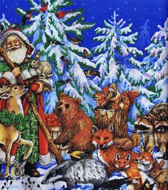 Advent Calendar, Gifts of the Season by South Sea Imports at Creative Quilt Kits