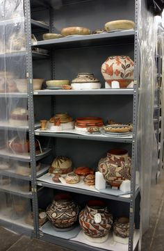 Artifacts in the Anthropology collection. Image credit: Carnegie Museum of Natural History.