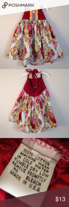 Boutique Brand Dress size 3/4t Super cute full dress for 3/4t missing tag. Similar to Tea or Jelly the Pug. Dresses Casual