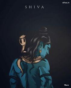 Lord Shiva Blue 3D Image  Shiva Warriors Image Angry Pose