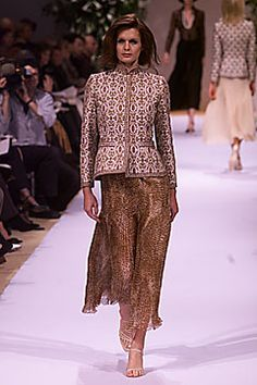 Balmain Spring 2001 Couture - Collection - Gallery - Look 1 - Style.com