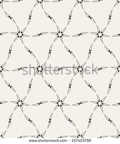 Seamless pattern. Modern stylish texture. Repeating abstract background by Curly Pat, via ShutterStock