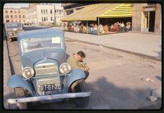 "Restauracja Parana, 1963, ulica Sadowa (ks. Skorupki),  fot. John Vachon z książki ""John Vachon. Trzy razy Polska"""