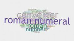 Roman Numeral Converter, Roman Numerals, Roman Numbers Tattoo, Roman Numeral Numbers