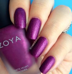 Nail Polish Addict: Zoya Matte Velvet