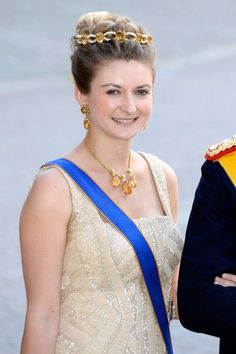 Her Royal Highness Crown Princess Stephanie of Luxembourg - The Wedding Of Princess Madeleine & Christopher O'Neill