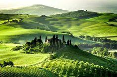 Vall d' Orcia Tuscany Italy