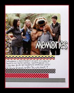 Disney Memories - Scrapbook.com