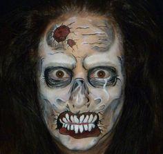 zombie schminken halloween pinterest zombies. Black Bedroom Furniture Sets. Home Design Ideas