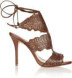 Schutz Garoa laser-cut leather sandals  |  @  my sexy shoes2