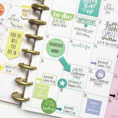 Click to see all The Happy Planner™️ goodies, including golden discs, stickers and other designs!! I found this picture here https://www.instagram.com/p/BEJL8jZAR97/?taken-by=the_happy_planner and felt inspired to shop and create.