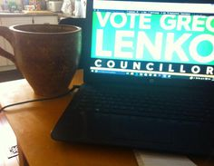 Sometimes working long hours just means a bigger cup of #coffee #enjoyyourlunch #onpoli #hamont #ward7 @greglenko