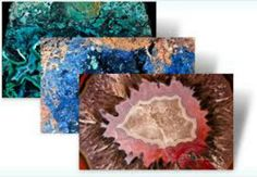 TheMacro World of Rockstheme brings different pictures of minerals and precious stones from many places on the planet Earth.