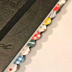 Organize your Notebook -- 11 Ways to Organize with Washi Tape :: OrganizingMadeFun.com