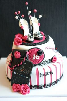 Some VERY cool ideas on here! The shoes! The lace border! The phone is stupid... But could be way cool!