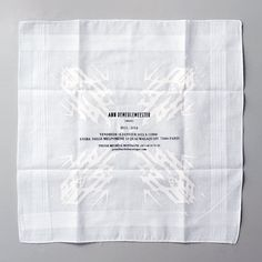 "Name: Anne Demeulemeester — Printwork • Designer: Victor Robyn • Description: ""Selection of printwork, designed for Ann Demeulemeester."" — ""A.D. Printwork"", Victor Robyn (Retrieved: 19 July, 2014)"