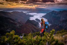 Wallpaper Women, Model, Ponytail, Mountains, Mountain Pass The Places Youll Go, Places To See, Florence Cathedral, Our Planet Earth, Mountain Pass, Thing 1, Orange Sky, City Wallpaper, Cool Landscapes