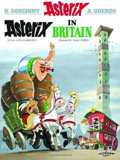 El comic también es un buen recurso lector y además si lo hacemos en inglés. Esta lectura de Asterix y Obelix incluye además de una divertida historia un vocabulario con aquellas palabras de más difícil comprensión.