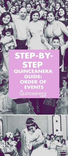 A great idea is to print this program and place it at the seat of each of your guests, this way, if they need to briefly step outside of the reception, they'll know by what time to return to not miss anything! Quinceanera Planning, Steps In Planning, Quinceanera Hairstyles, First Step, More Fun, Angels, Reception, Parties, Events