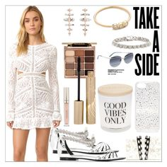 """""""Take a side"""" by camry-brynn ❤ liked on Polyvore featuring For Love & Lemons, Kendra Scott, ZoÃ« Chicco, Eddie Borgo, Roberto Cavalli, Nathalie Trad, Sonix, Marc Jacobs, Damselfly and Stila"""