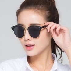 http://www.lazada.com.my/king-lv-pure-co-ltd/ Round Women's Sunglasses Men V Brand Designer Polarized HD clear lens sun glasses for women vintage oculos Female UV400