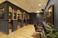 Beauty salon interior design ideas |  + chairs + mirrors + space + decor + Japan + designs  + white | Follow us on https://www.facebook.com/TracksGroup <<<【hikute セットエリア】 美容室 内装