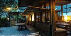 Rupa Wasi Eco Lodge, el primer hotel ecológico en Machu Picchu.  Si en su visita a la ciudadela de Machu Picchu, en Cusco, decide experimentar la paz y la comodidad de la tierra de los Incas, el Rupa Wasi Eco Lodge, es el primer y único albergue ecológico que recibe a todos los turistas y ofrece un servicio de primer nivel.