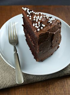 Authentic Suburban Gourmet: Chocolate Espresso Cake