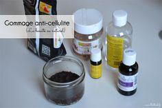 Gommage anti-cellulite maison à base de café