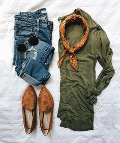 👌🏼💫Loving olive and cognac together, earth tones are my fave! Fall Winter Outfits, Autumn Winter Fashion, Winter Style, Look Fashion, Fashion Outfits, Womens Fashion, Casual Outfits, Cute Outfits, Weekend Style