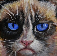The Grumpy Cat painting