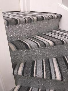 Best Glitter Fabric Stairs Sparkly Staircase Bling Ebay In 400 x 300
