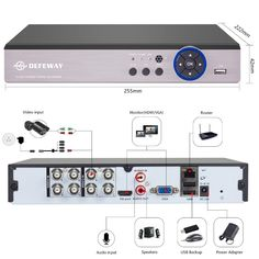 DEFEWAY 8CH 1080N HDMI DVR 1200TVL 720P HD Outdoor Surveillance Security Camera System 8 Channel CCTV DVR Kit AHD Camera Set  Price: 314.00 & FREE Shipping  #computers #shopping #electronics #home #garden #LED #mobiles #rc #security #toys #bargain #coolstuff |#headphones #bluetooth #gifts #xmas #happybirthday #fun Outdoor Home Security Cameras, Home Security Camera Systems, Security Gadgets, Channel, Kit, Mobiles, Computers, Bluetooth, Headphones