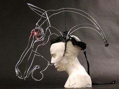 abstract animal head costumes roosters - Google Search