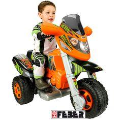 FEBER 6331- TRIMOTO 6V BATERÍA FAMOSA MODELO XTM, IndalChess.com Tienda de juguetes online y juegos de jardin