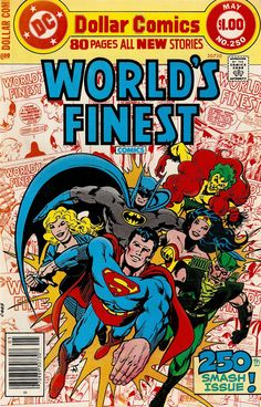 World's Finest - Jim Aparo cover. I wish anthology titles worked in the current market.
