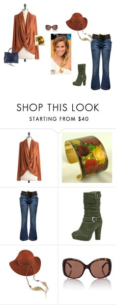 Rainy day sexy by amy-j-thornton on Polyvore featuring Jane Norman, even&odd, Balenciaga, Lovely Bird, Chanel, distressed, fringe bags, floral print, military and olive