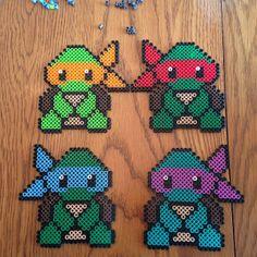 TMNT perler beads by thatpolishdude27