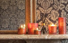 Orange Pomander Scented Candles by Shearer Candles