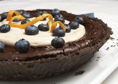 38. Chocolate pumpkin pie | Community Post: 49 Vegan & Gluten Free Things To Bake In December