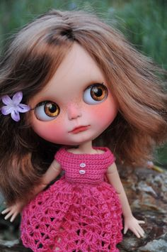OOAK Custom Blythe Doll - DENISA- Customized by Zuzana D. | eBay