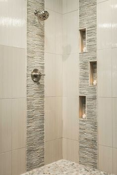 80 stunning tile shower designs ideas for bathroom remodel (40)
