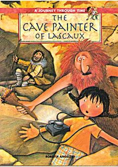 proto-writing: The Cave Painter of Lascaux: Roberta Angeletti. Elementary Art Rooms, Art Lessons Elementary, Art Books For Kids, Art For Kids, Salles D'art Élémentaires, Arte Elemental, Classe D'art, Lascaux, Album Jeunesse